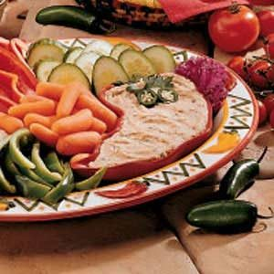 Low-Fat Bean Dip Recipe