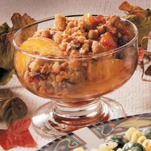 Cranberry Peach Crisp Recipe