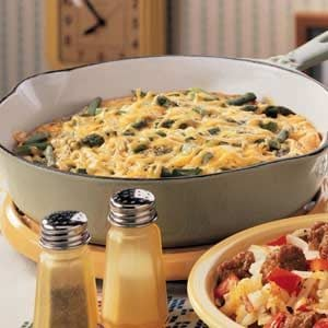 Dilly Asparagus Frittata Recipe