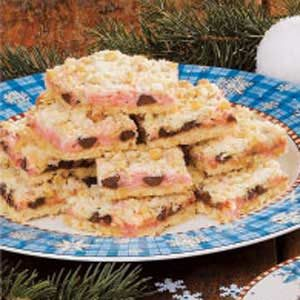 Peppermint Oat Bars Recipe