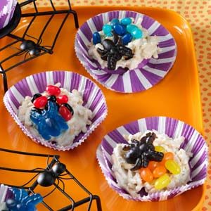 Spider Nest Candies
