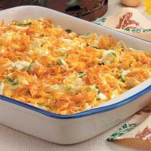Cabbage Cheddar Casserole Recipe