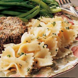 Parmesan Bow Ties Recipe