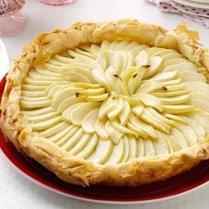 Apple Frangipane Phyllo Tart Recipe