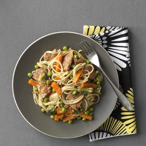 Pork and Vegetable Lo Mein Recipe