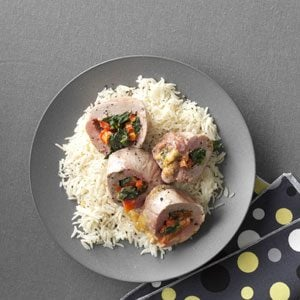 Southwest Stuffed Pork Tenderloin