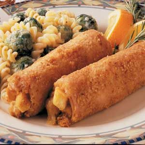 Stuffed Ham Rolls Recipe