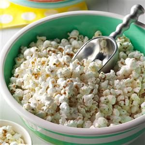 Parmesan Ranch Popcorn Recipe