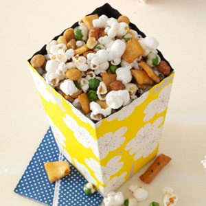 Asian Delight Popcorn Recipe
