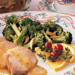 Savory Broccoli Spears Recipe