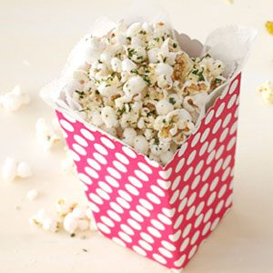 Italian Cheese Popcorn Recipe