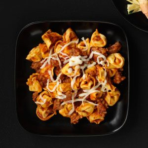 Simple Roasted Pepper Tortellini Recipe