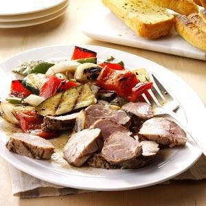 Marinated Pork Mixed Grill Recipe