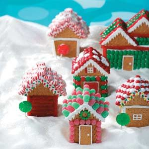 Christmas Village Houses Recipe