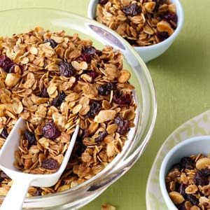 Get-Up-and-Go Granola Recipe