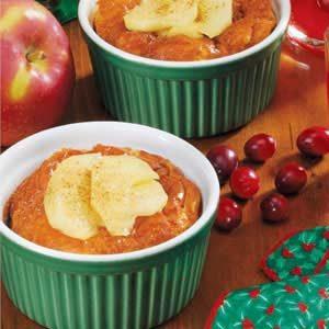 Apple Ham Puffs Recipe