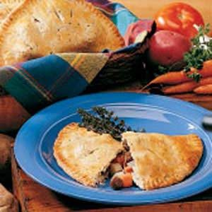 Herbed Cornish Pasties Recipe