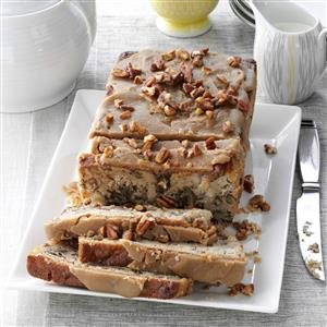 Praline-Topped Apple Bread Recipe