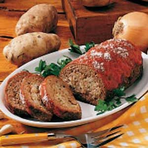 Meat Loaf Potato Surprise Recipe