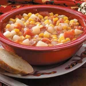 Tomato Corn Chowder Recipe