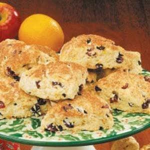 Cranberry Buttermilk Scones Recipe