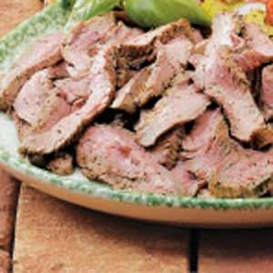 Seasoned Flank Steak Recipe