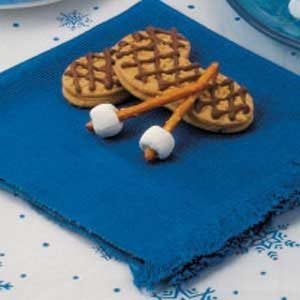Snowshoe Cookies Recipe