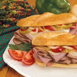 Cheesesteak Subs Recipe