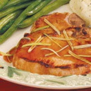 Ginger Pork Chops Recipe