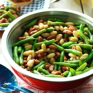 Balsamic Three-Bean Salad Recipe