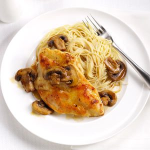 Speedy Chicken Marsala Recipe