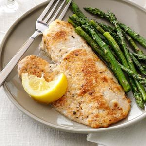 Parmesan-Broiled Tilapia Recipe