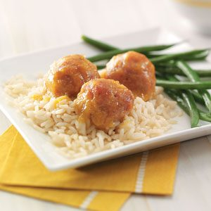 Sweet-Sour Ham Balls Recipe