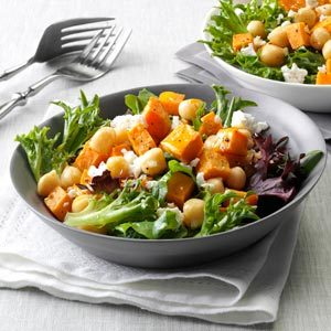 Sweet Potato & Chickpea Salad Recipe