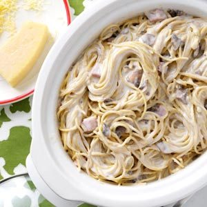 Light Ham Tetrazzini Recipe