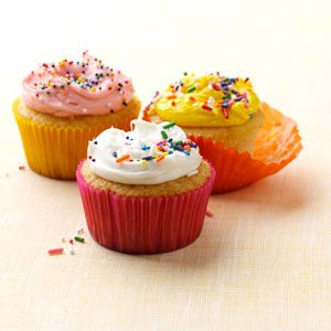 Very Vanilla Cupcakes Recipe