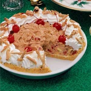 Cherry Banana Cream Pie