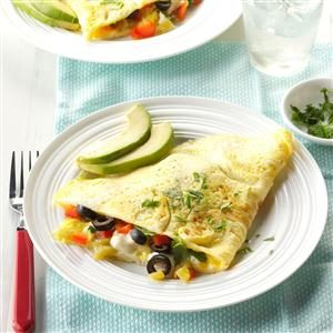 Fiesta Time Omelet Recipe