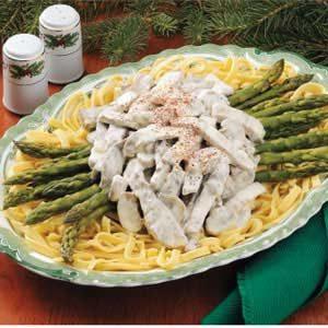 Asparagus Beef Stroganoff Recipe