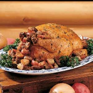 Chicken with Potato Stuffing