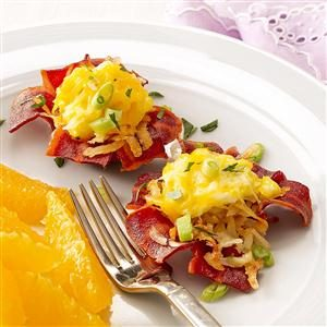Bacon Breakfast Cups Recipe
