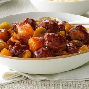 Sweet BBQ Meatballs Recipe