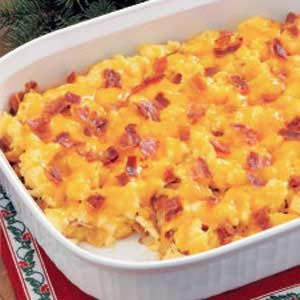 Cheesy O'Brien Egg Scramble Recipe