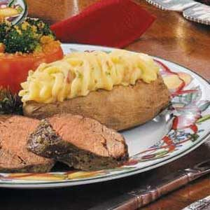 Special Twice-Baked Potatoes Recipe