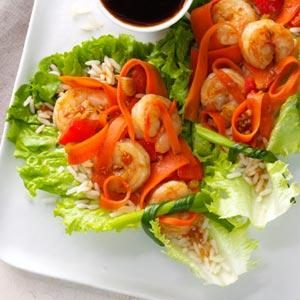 Shrimp Lettuce Wraps