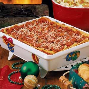Christmas Night Lasagna Recipe