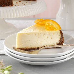 Elegant Orange Blossom Cheesecake Recipe