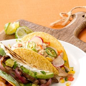 Chipotle Ranch Chicken Tacos Recipe