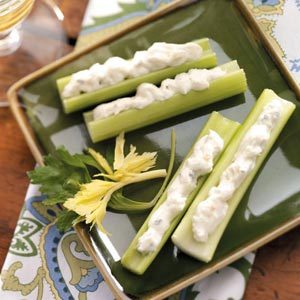 Crab-Stuffed Celery Recipe