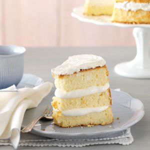 Orange Cream Chiffon Cake Recipe